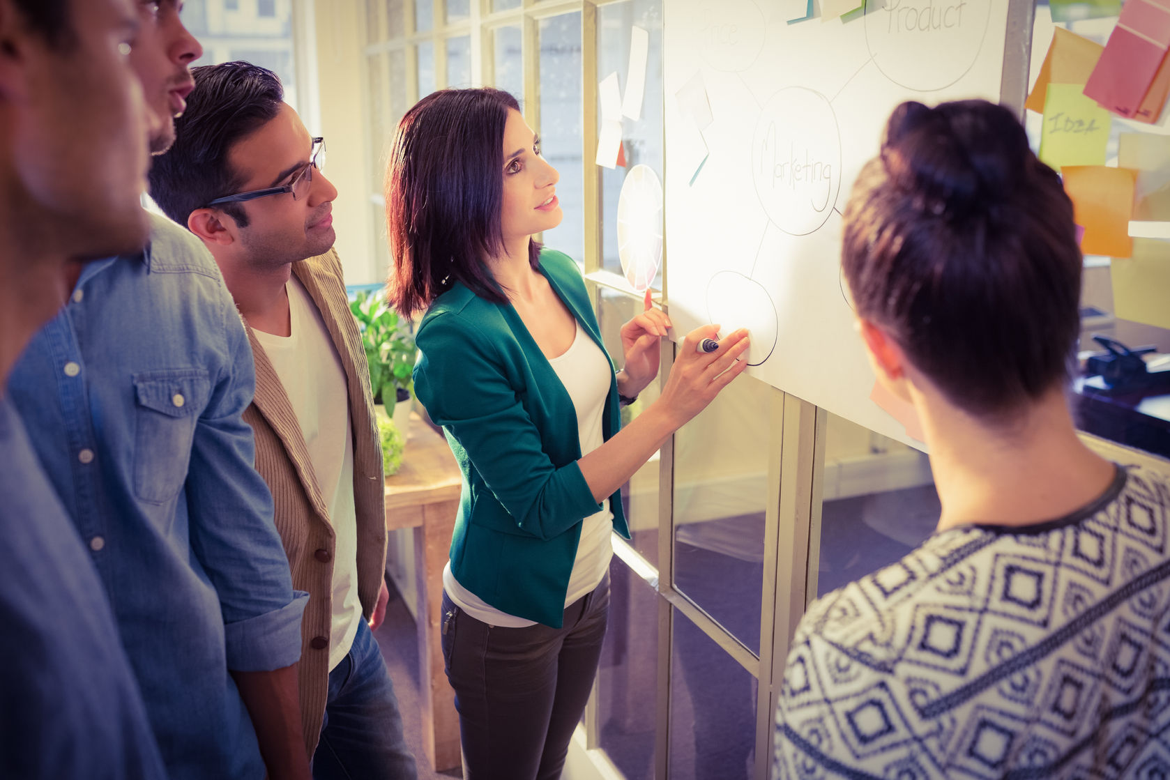 There are two key roles to scrum meetings in Agile: the scrum master and the product owner.