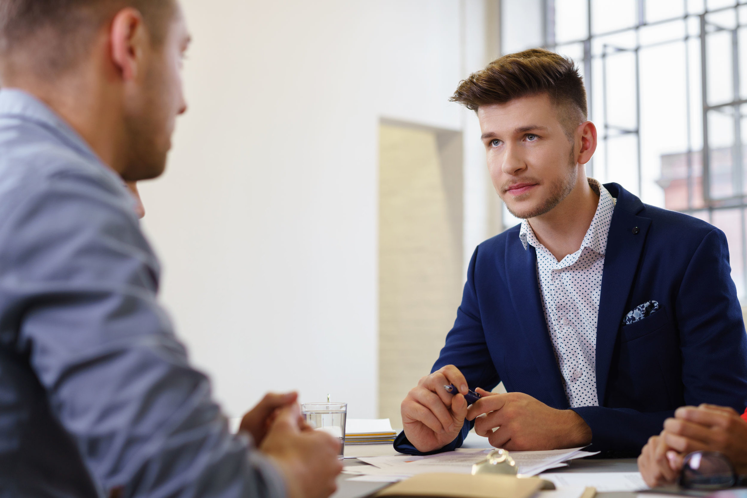 A popular trend that employers are testing to improve their listening active skills is setting a talk-to-listen ratio.