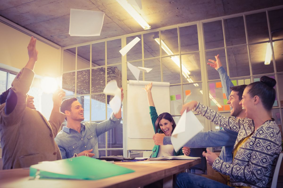 Encourage team members to hit work goals in a fun and unique way.