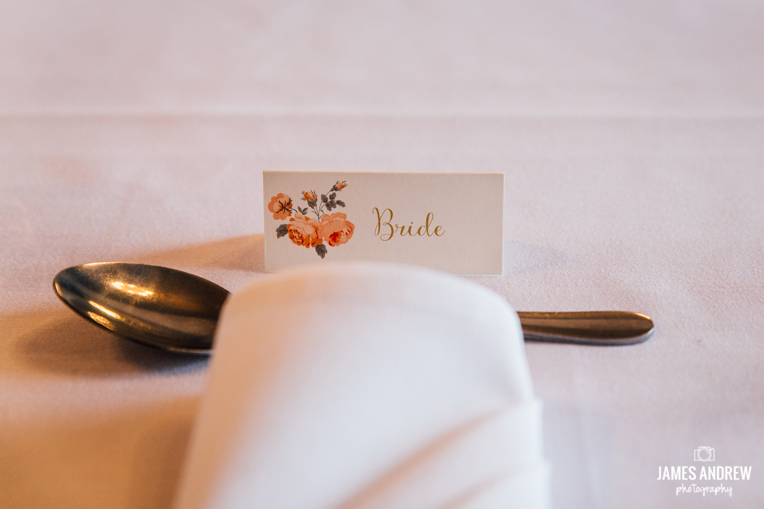 Wedding place name tropical theme