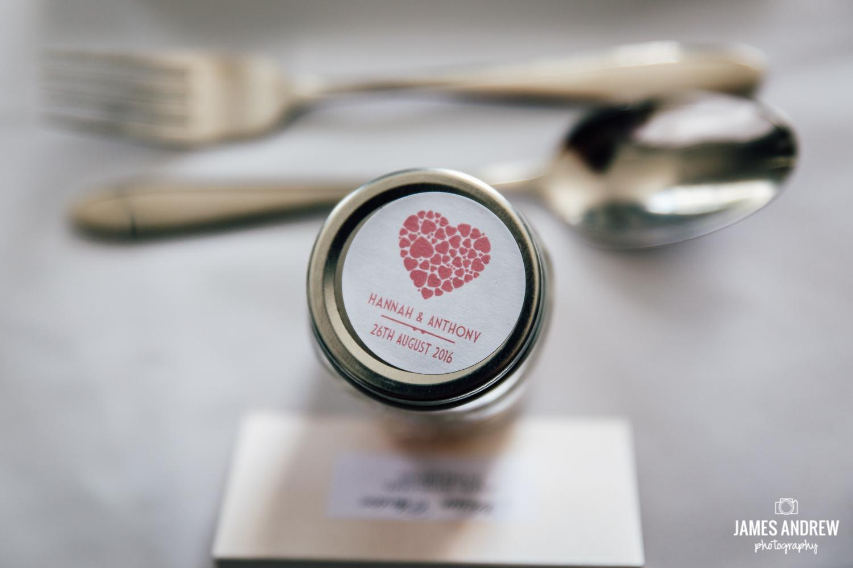 Sweetie jar wedding