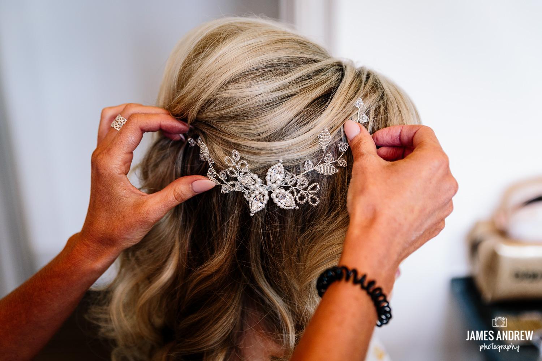 Bridal prep hair