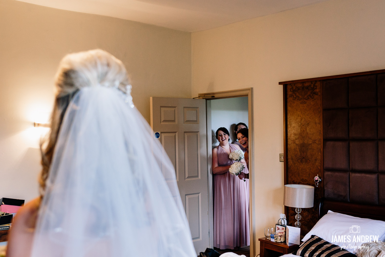 Bridemaids surprise
