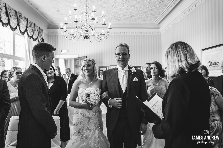 Family wedding cheshire