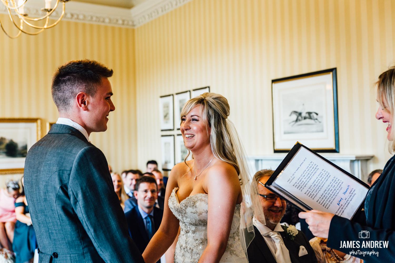 Wedding ceremony Cranage hall