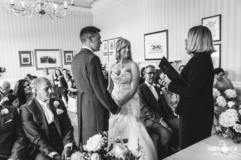 Registrar Cheshire wedding