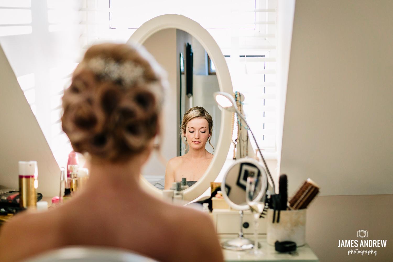 Staffordshire wedding photographer bridal prep