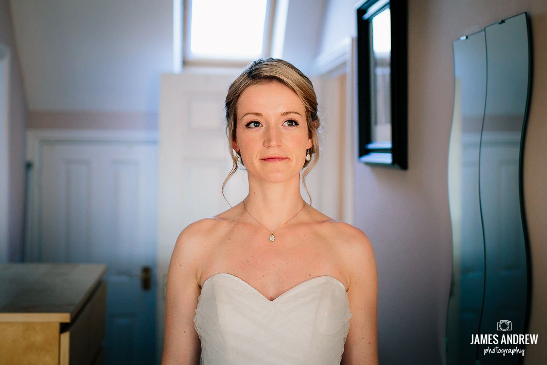 Bride looking amzing