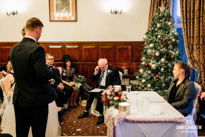 Grandad's wedding speech