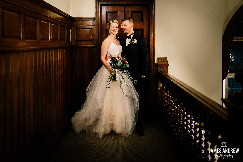 Bridal portrait rookery hall