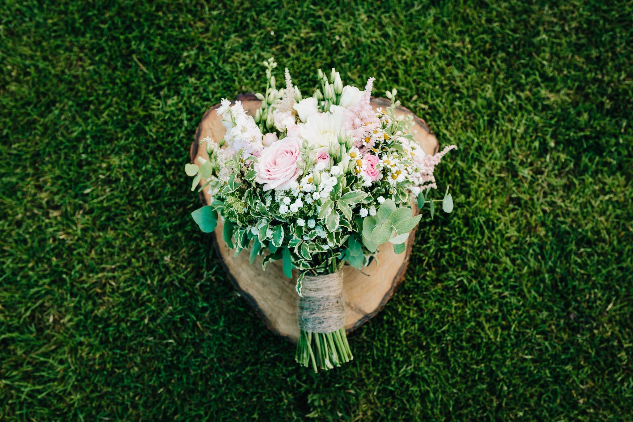 BRIDAL BOUQUET BY THE GARDEN ROSE FLORIST