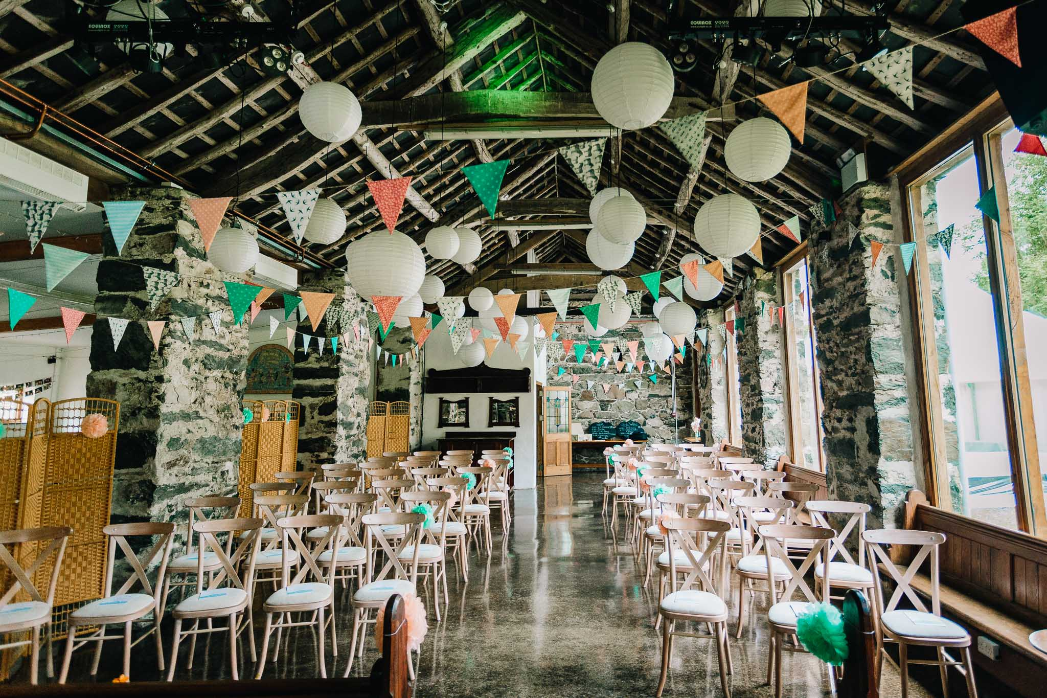 COUNTRY FAYRE WEDDING STYLING IN RUSTIC BARN