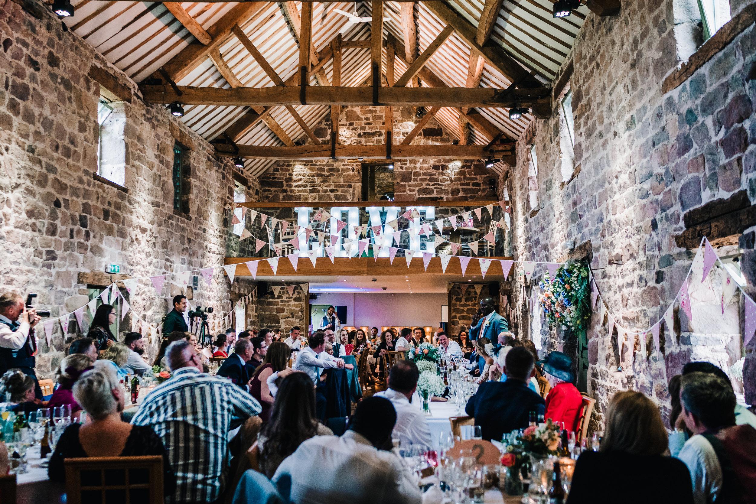 BARN WEDDING VENUE IN ENDON STAFFORDSHIRE NEAR LEEK