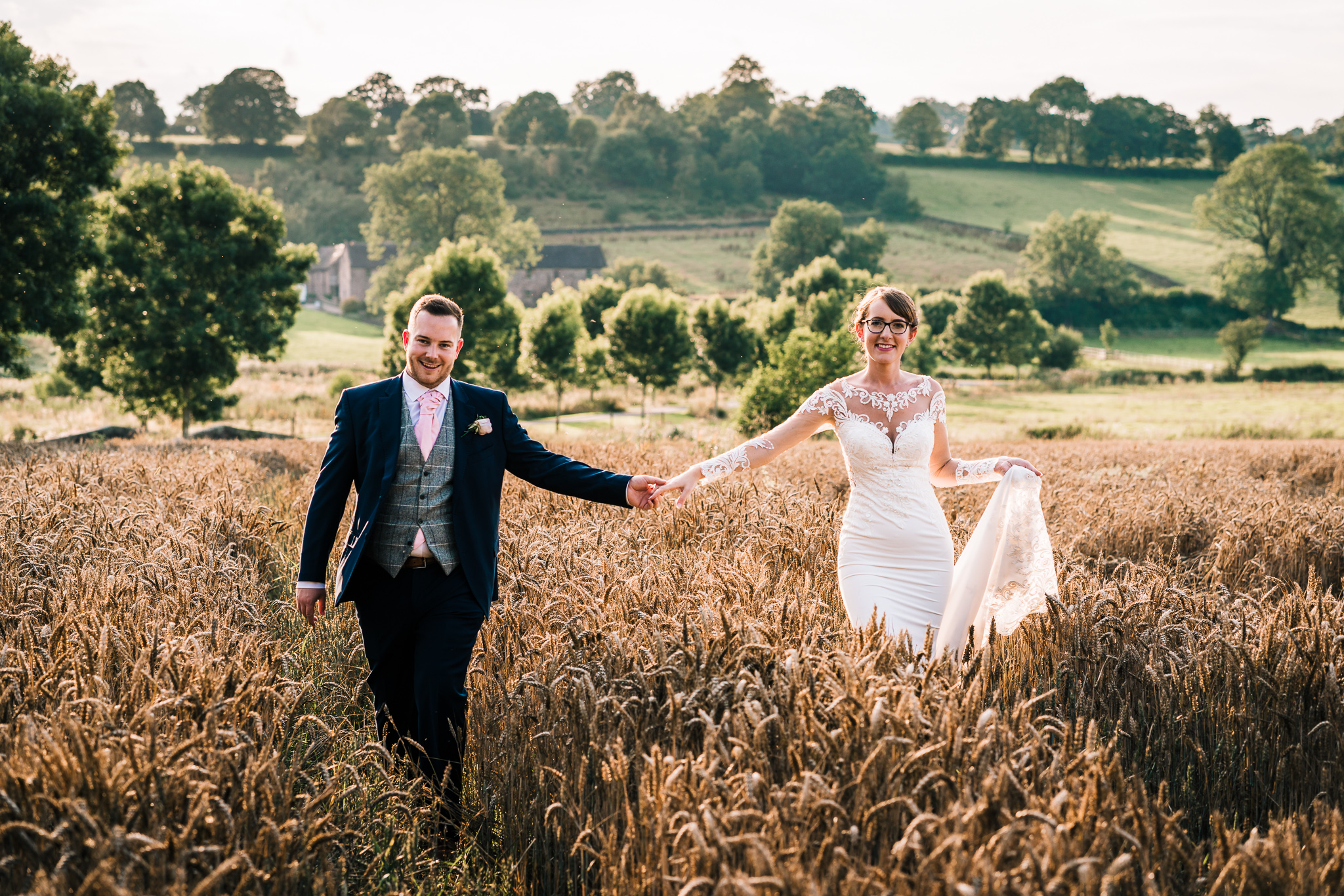 THE ASHES BARNS WEDDING PHOTOGRAPHY LEEK STAFFORDSHIRE
