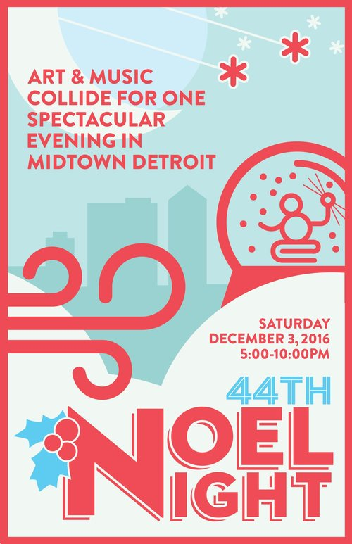Come to Midtown Detroit Tonight For The 44th Annual Noel Night!  Get in to the Holiday Spirit. The entire Midtown Community invites you!  Enjoy Shopping Music and more with Family and Friends.