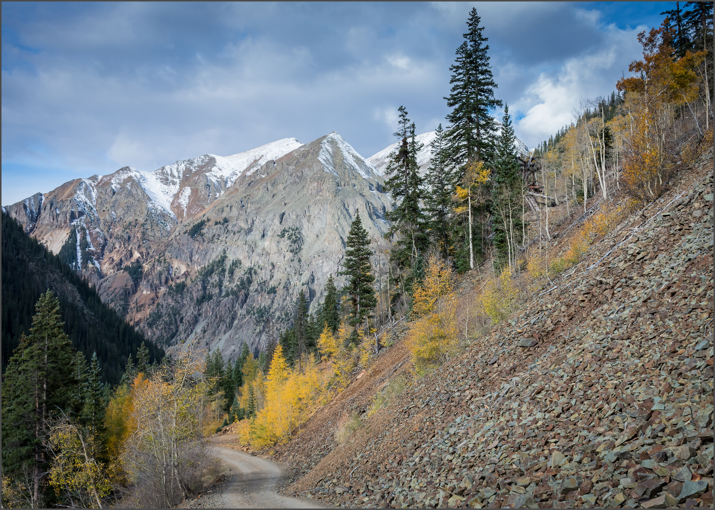'Road to Silverton' received First Place in the 'Enhanced' division.