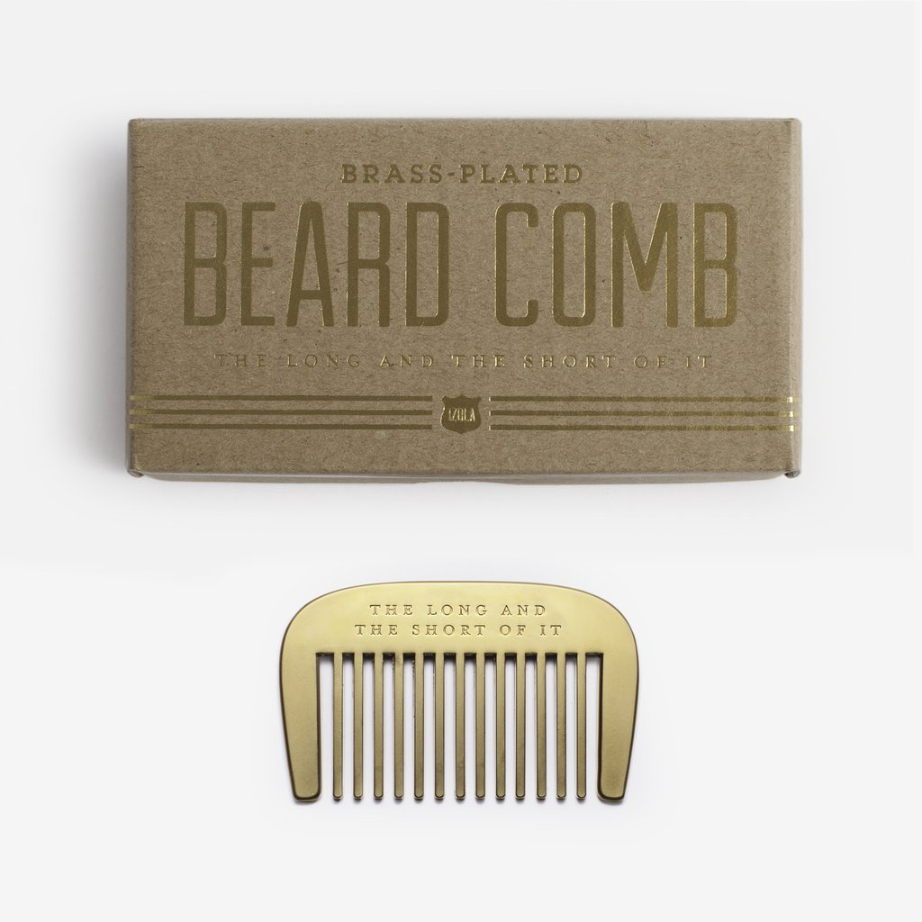 $19.99 THE LONG AND THE SHORT OF IT BEARD COMB