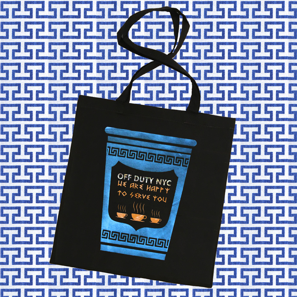 $39.99 HAPPY TO SERVE YOU HANDCRAFTED TOTE BAG