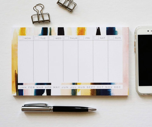 $11.99 WEEKLY PLANNER NOTEPAD