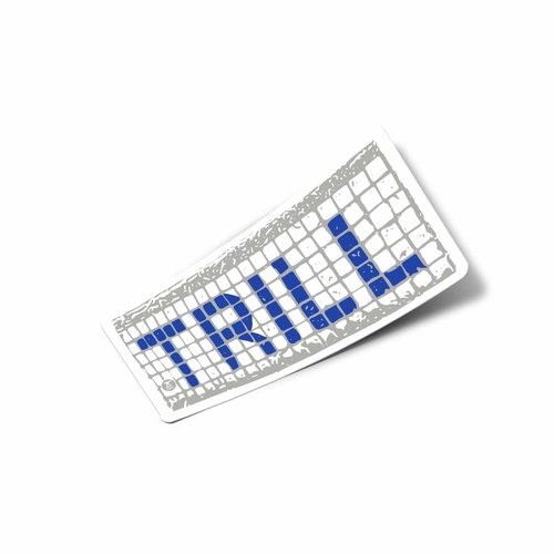 $2.95 TRILL BLUE TILES STICKER