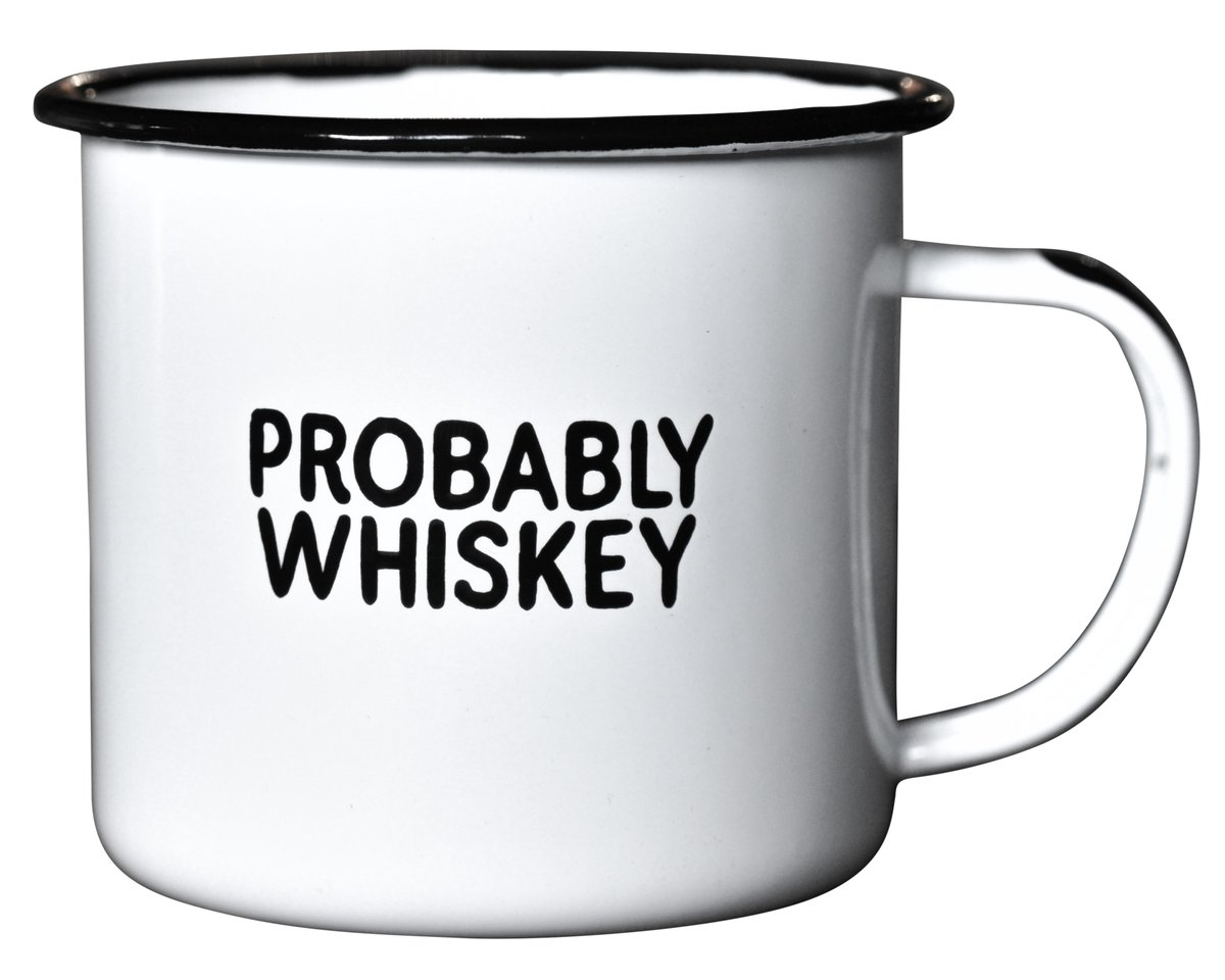 $19.99 PROBABLY WHISKEY MUG
