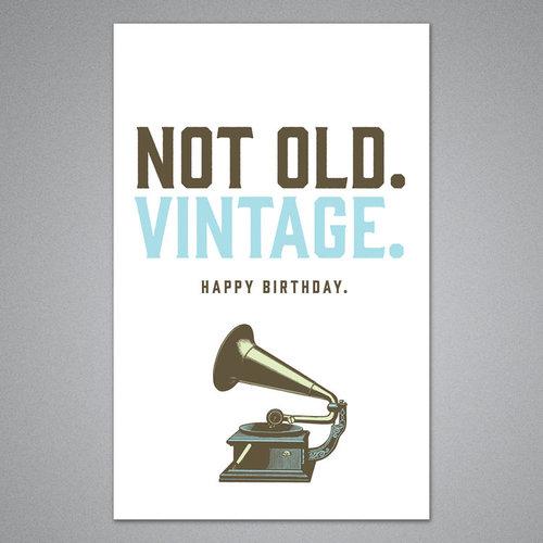 $3.99 NOT OLD, VINTAGE BIRTHDAY CARD