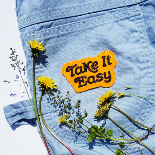 $9.99 TAKE IT EASY PATCH
