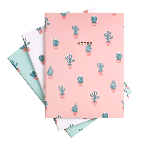 $10.99 CACTUS NOTEBOOK SET