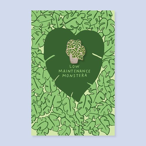$11.99 MONSTERA LEAF PIN