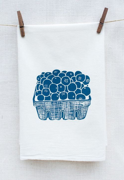 $14.99 BLUEBERRY BASKET KITCHEN TOWEL