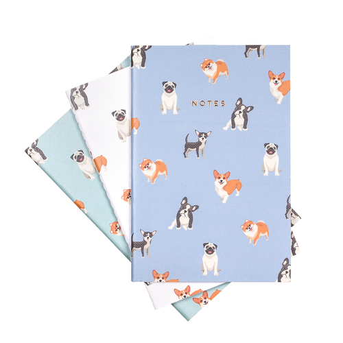 $10.99 DOG NOTEBOOK SET