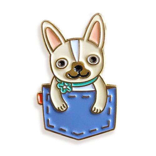 $9.99 POCKET FRENCH BULLDOG PIN