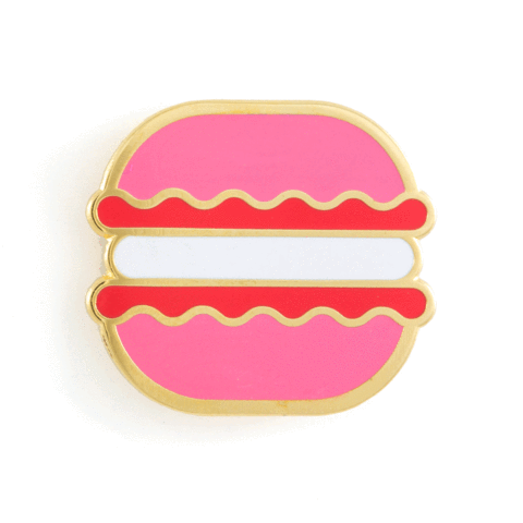 $9.99 STRAWBERRY MACARON PIN