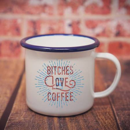 $15.99 BITCHES LOVE COFFEE MUG