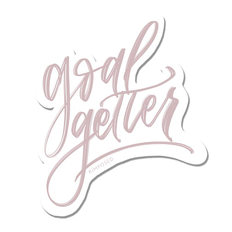 $1.99 GOAL GETTER STICKER