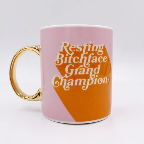 $15.99 RESTING BITCHFACE GRAND CHAMPION MUG