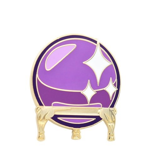$9.95 CRYSTAL BALL PIN