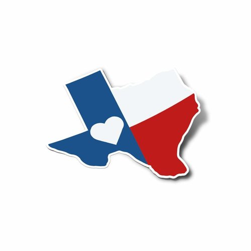 $4.95 TEXAS FLAG STICKER