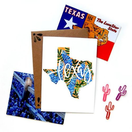 $4.49 TEXAS BLUEBONNET CARD
