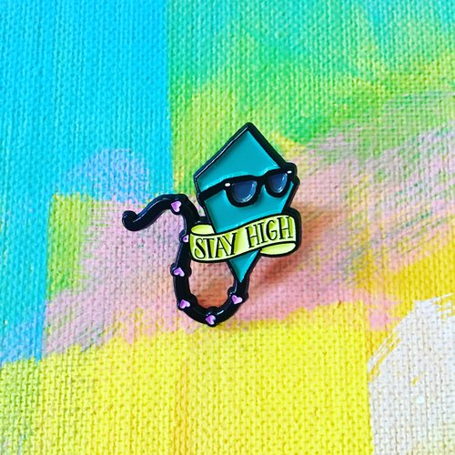$11.99 STAY HIGH KITE PIN