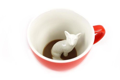 $14.99 CREATURE CUP FOX MUG