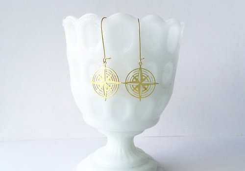 $21.99 COMPASS EARRINGS