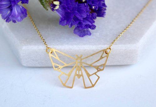 $27.99 BUTTERFLY NECKLACE