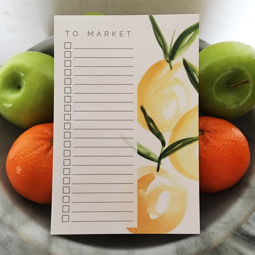 $7.99 TO MARKET GROCERY LIST NOTEPAD