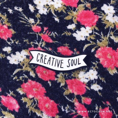 $11.99 CREATIVE SOUL PIN