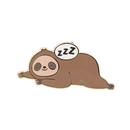$9.95 SLEEPY SLOTH PIN