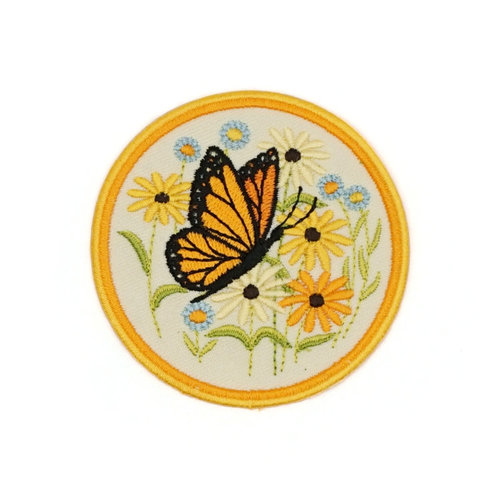 $5.99 BUTTERFLY EMBROIDERED PATCH