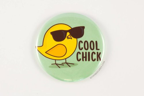 $3.49 COOL CHICK POCKET MIRROR