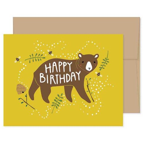 $4.49 BIRTHDAY BEAR CARD
