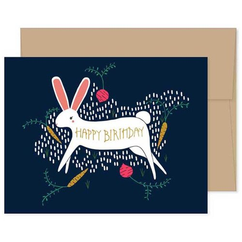 $4.49 BIRTHDAY BUNNY CARD